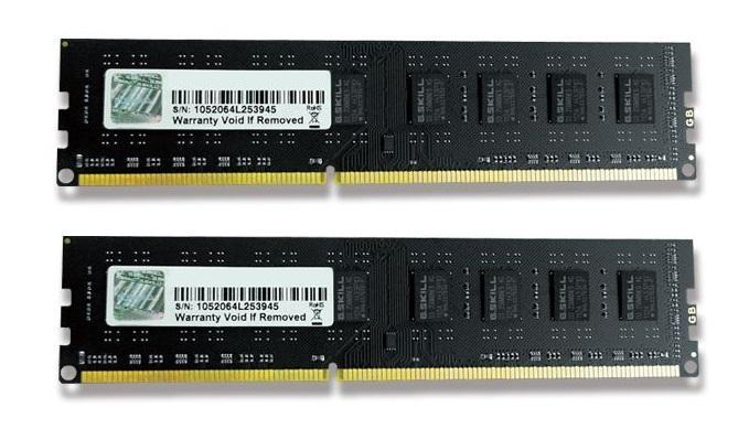 4GB G.Skill DDR3 PC3-10600 1333MHz NS Series (9-9-9-24) Dual Channel kit