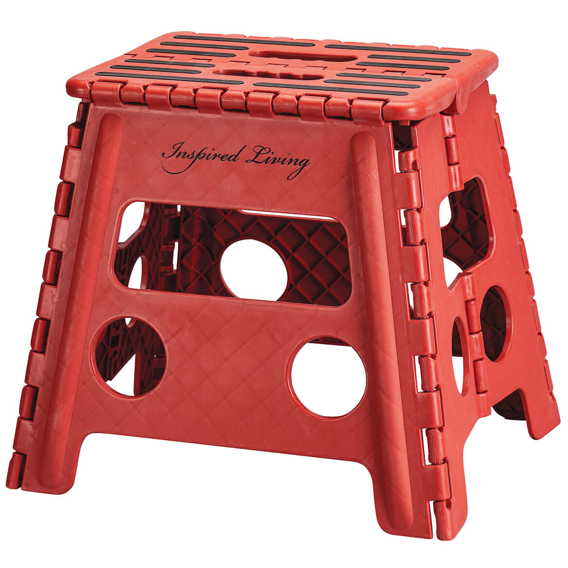 Fabulous Inspired Living Folding Step Stool Heavy Duty 9 High In Machost Co Dining Chair Design Ideas Machostcouk