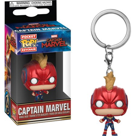 Keychain Cpr Masks (FunKo POP! Keychain, Marvel Captain Marvel Masked)
