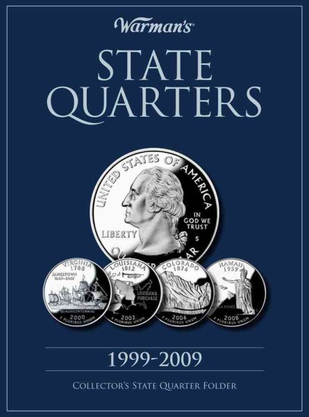 Amazoncom State Series Quarters 19992009 Collectors Map Kids