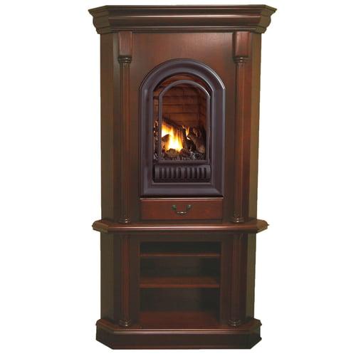 Gas Tower Corner Fireplace, Corner Natural Gas Fireplaces Ventless