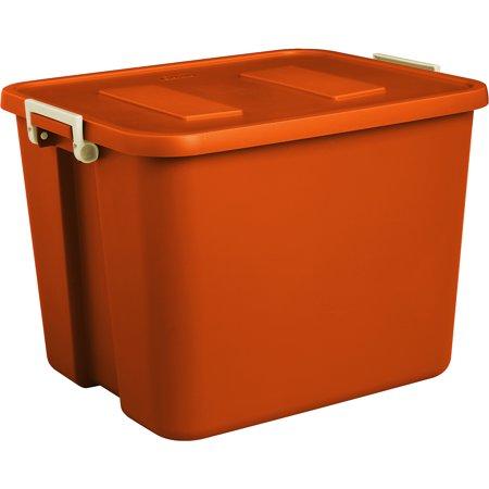 Sterilite 20 Gallon 80 Quart Latch Storage Box Set Of 6