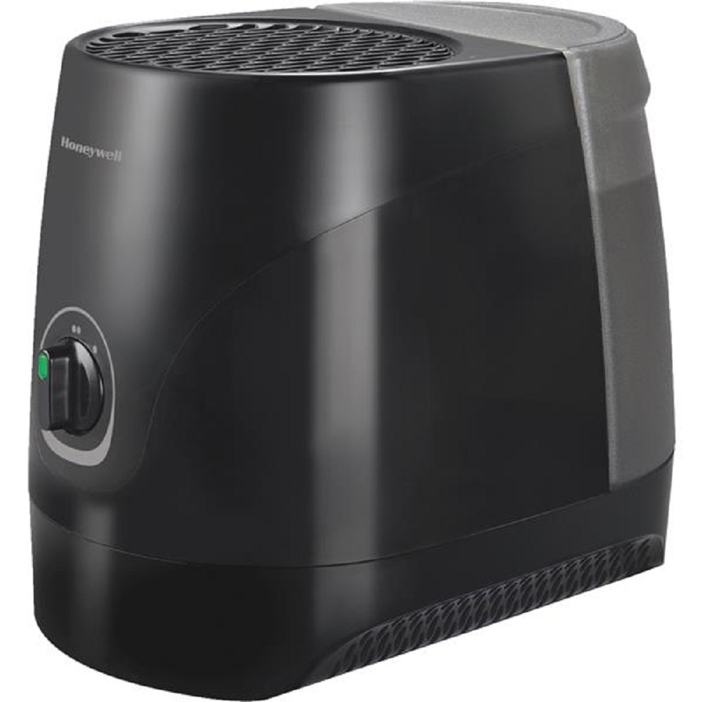 Honeywell Cool Mist Table Top Room Area Humidifier Black HEV-320B