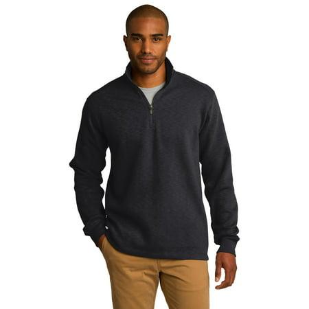 Port Authority Slub Fleece 1 4 Zip Pullover