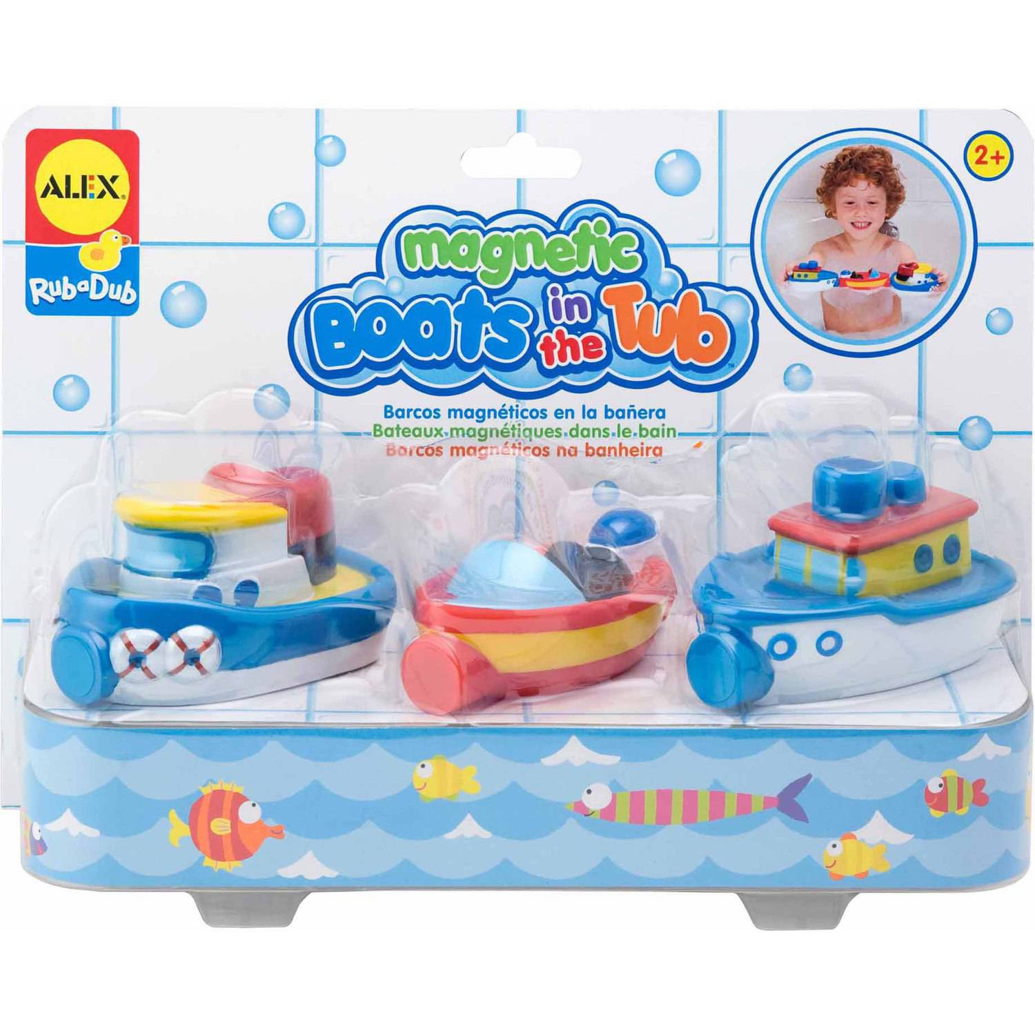 ALEX Bath Magnetic Boats In The Tub