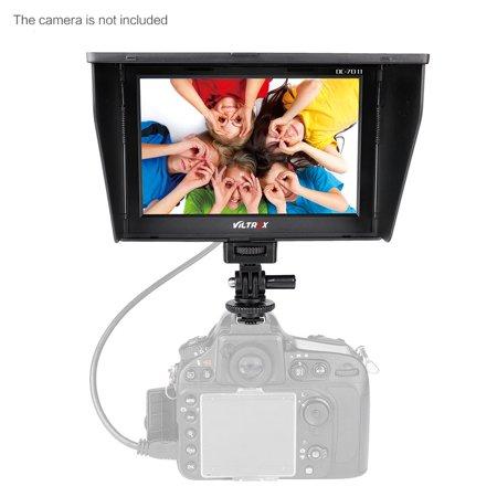 Tft Clip (Viltrox DC-70II 1024 * 600 7'' Clip-on Color TFT LCD HD Monitor HDMI AV Input for DSLR Camera Camcorder )