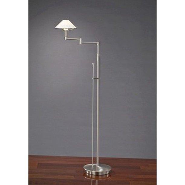 Aging Eye Swing Arm Floor Lamp Br