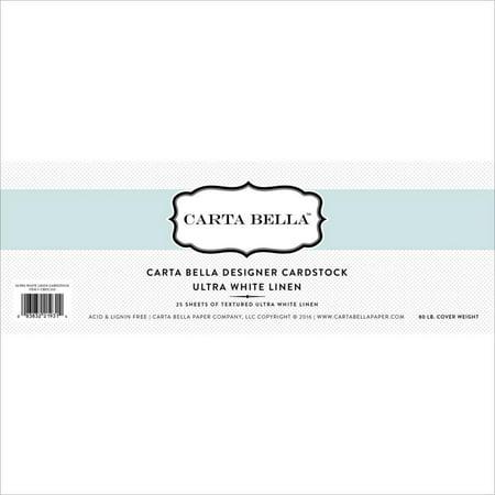 Royal Fiber 80 Lb Cover - Carta Bella Designer 80 Lb Cover Cardstock 12