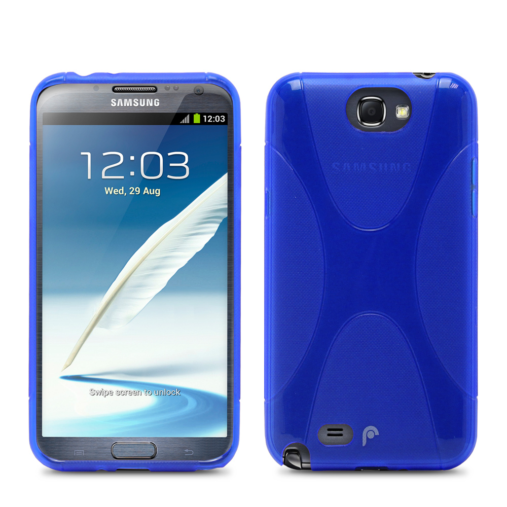 Fosmon DURA X TPU Case for Samsung Galaxy Note 2 II / N7100 - Blue