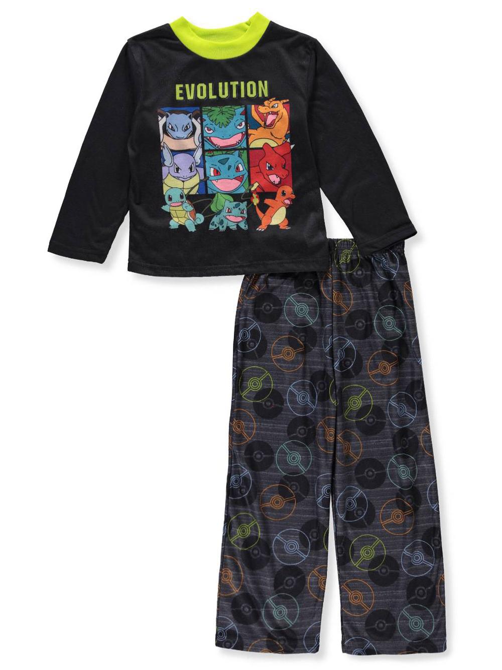 Pokemon Boys' 2-Piece Pajamas