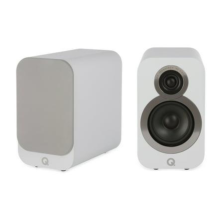 Q Acoustics 3010i Compact Bookshelf Speaker Pair Arctic