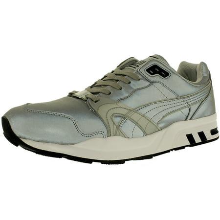 a700f2cd1c0e PUMA - Puma Men s Xt1 Reflective Silver Metallic Black Low Top Walking Shoe  - 11M - Walmart.com