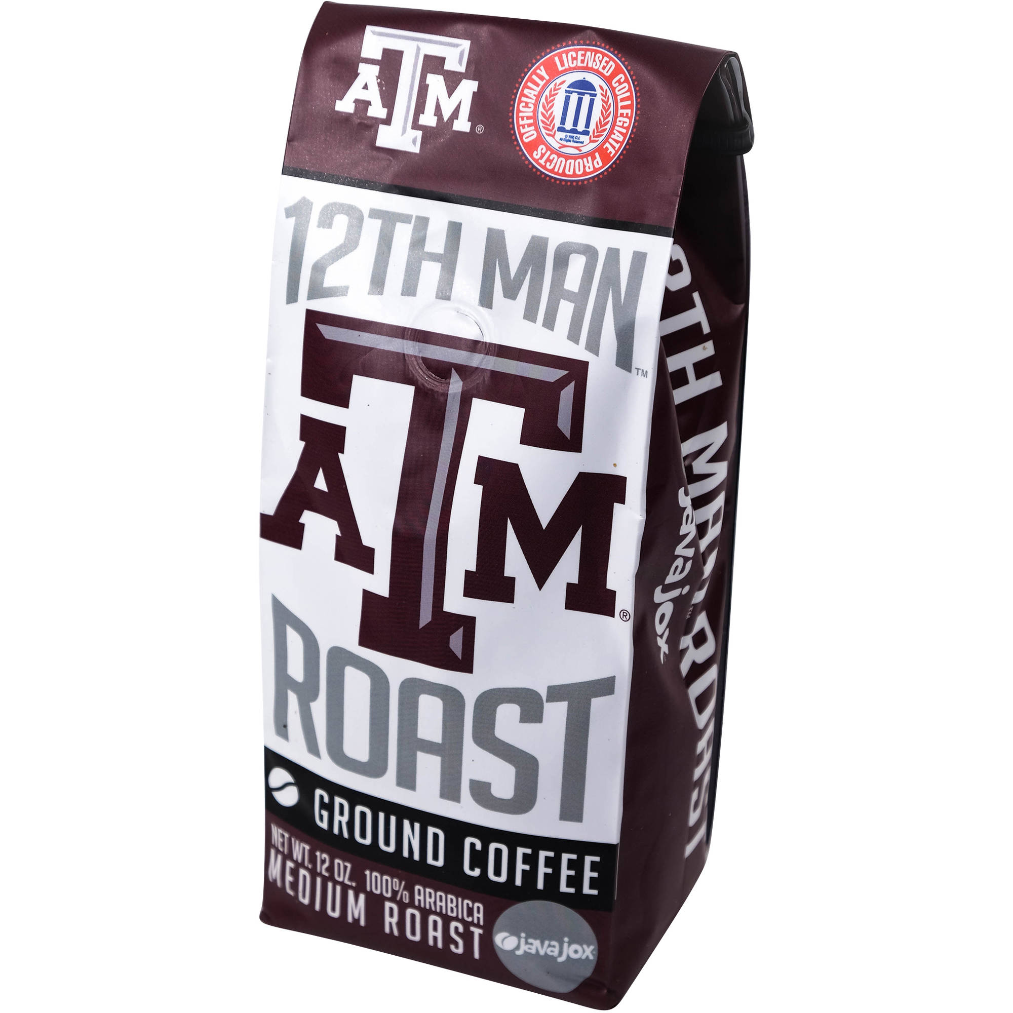 Java Jox ATM 12th Man Roast Ground Coffee, 12 oz
