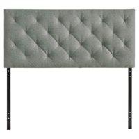 Fabric Headboard in Gray (Twin: 39 in. W x 3 in. D x 25 in. H (20 lbs.))