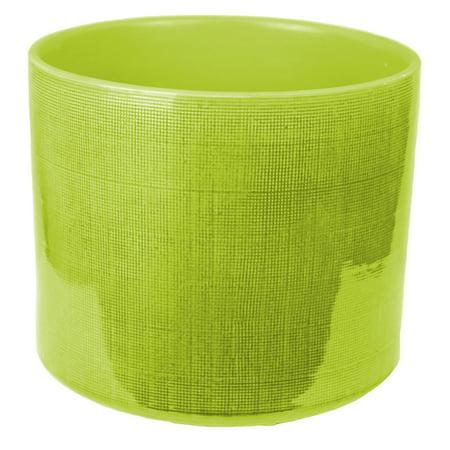 Sagebrook Home Ceramic Flower Table Vase - Green - Ceramic Flower