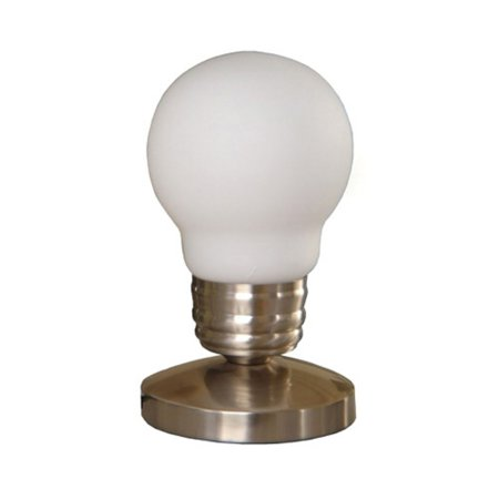 Simple Designs Edison Style Minimalist Idea Bulb Mini Touch Desk Lamp - Halloween Simple Idea