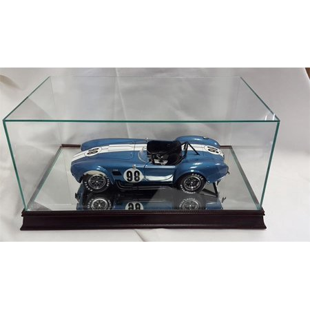 The 1:12 Scale Glass and Wood Display Case for Scale Model Cars