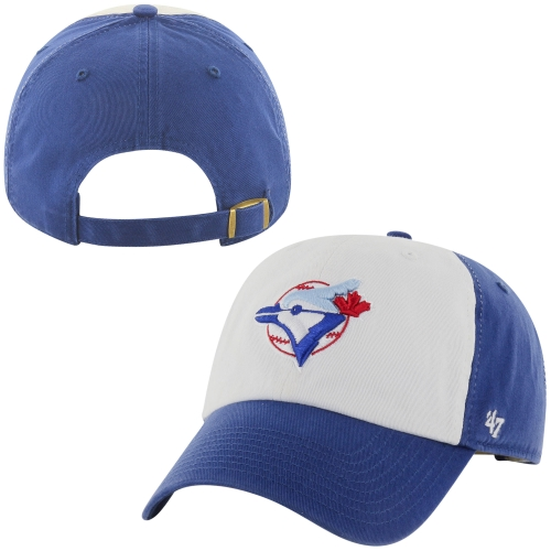 Toronto Blue Jays '47 Brand Cooperstown Collection Basic Logo Cleanup Adjustable Hat - Royal Blue - OSFA