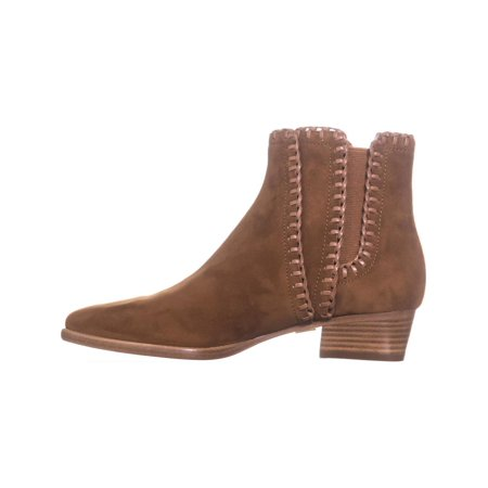 Michael Kors Collection Presley Pull On Stiched Ankle Boots, Dark Luggage - image 3 de 6