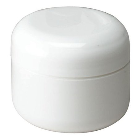 - 1 oz. Double Walled Container with Domed Lid & Sealing Disk 6 Count