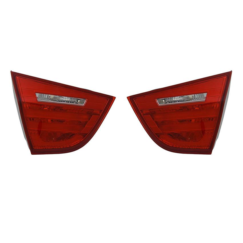 NEW PAIR INNER TAIL LIGHTS FITS BMW 328i xDrive SEDAN 2009 2010 2011 63217289428 63217289427 BM2803105 BM2802105 63 21 7 289 428 63-21-7-289-428