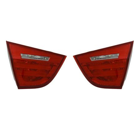 NEW PAIR INNER TAIL LIGHTS FITS BMW 328i xDrive SEDAN 2009 2010 2011 BM2802105 (2011 Bmw 328i Xdrive Accessories)