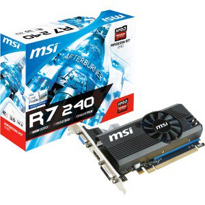 Ddr3 Pcie 2.0 Graphics - MSI R7 240 2GD3 LP Radeon R7 240 2GB DDR3 PCIe Graphics Card R72402364P