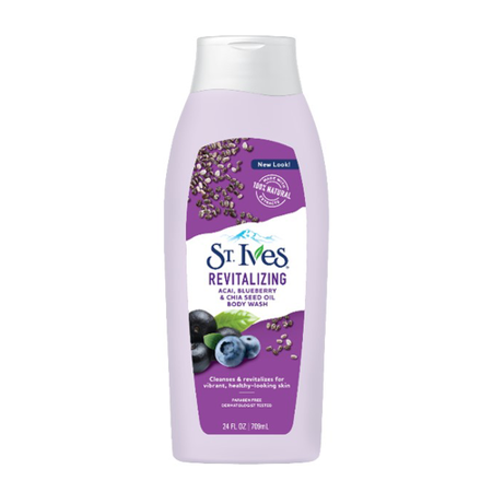 St. Ives Revitalizing Acai Blueberry Chia Seed Oil Body Wash ()
