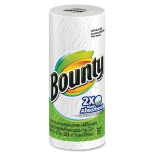 Bounty Paper Towel - 2 Ply - 44 Sheets/roll - 30 / Carton - White (88275CT)