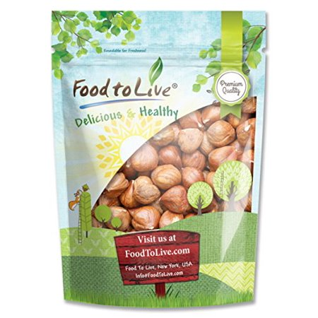 - Food To Live ® Hazelnuts / Filberts (Raw, No Shell) (8 Ounces)