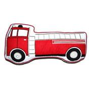 Cozy Line Fire Truck Decorative Pillow