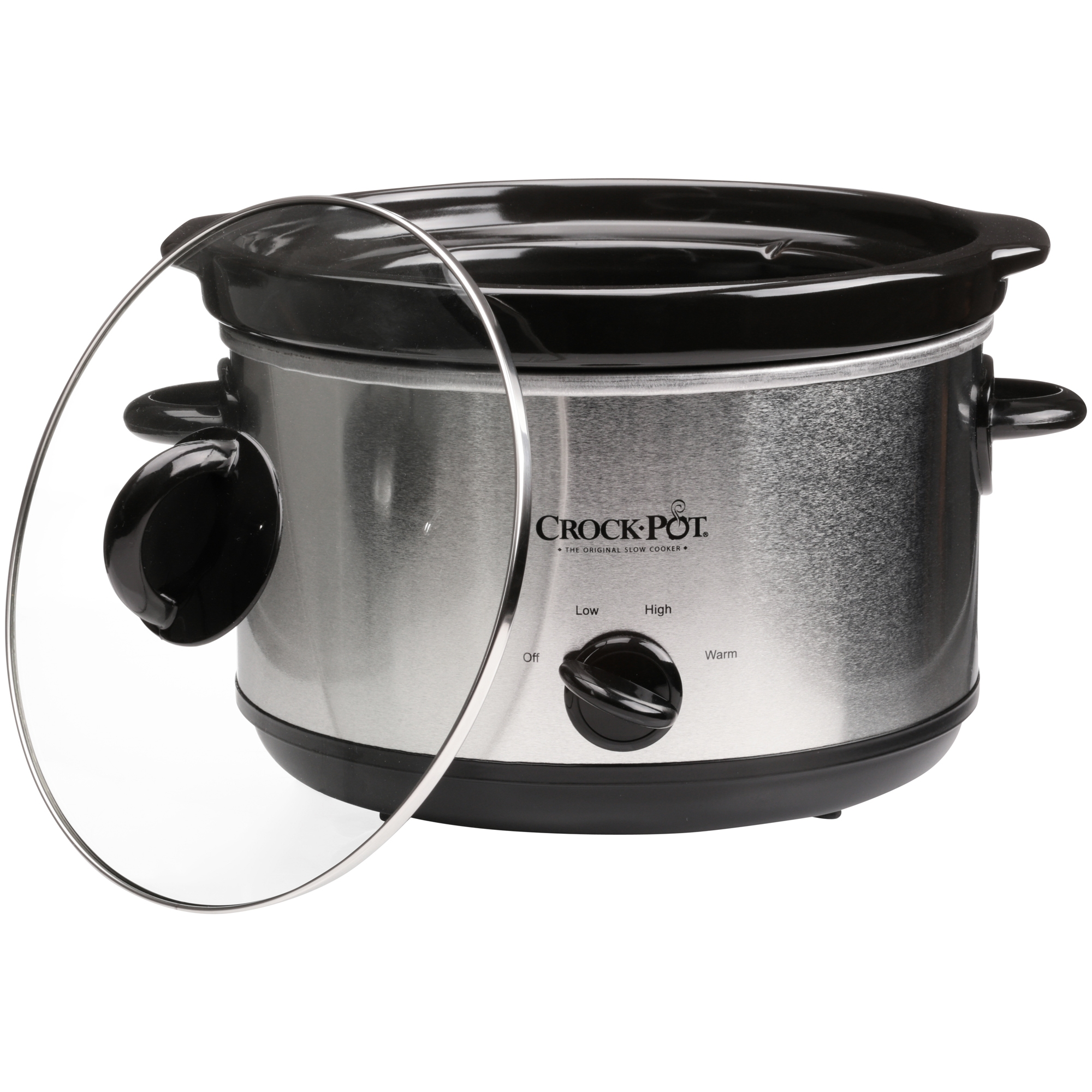 Crock Pot The Original Slow Cooker 5 Quart Stainless Steel Scr500