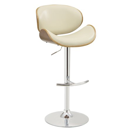 Armen Living Naples Adjustable Swivel Bar (Naples Swivel Bar Stools)