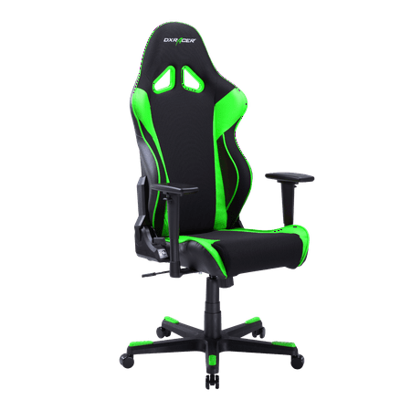 DXRacer Racing Series Black and Green - OH/RW106/NE - Ergonomic, High Back,  Reclining, Gaming \ E-Sports \ Office Chair