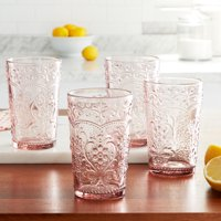 The Pioneer Woman Amelia 15.22-Ounce Glass Tumblers
