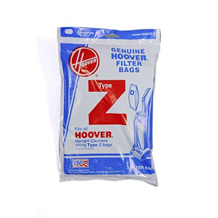 - Hoover Type Z Upright Canister Vacuum 3 Bags # 4010100Z, 4010075Z