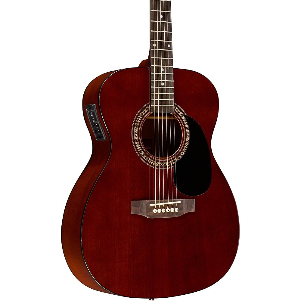 Rogue RA-090 Concert Acoustic-Electric Guitar, Mahogany Natural