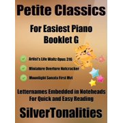 Petite Classics for Easiest Piano Booklet G - eBook