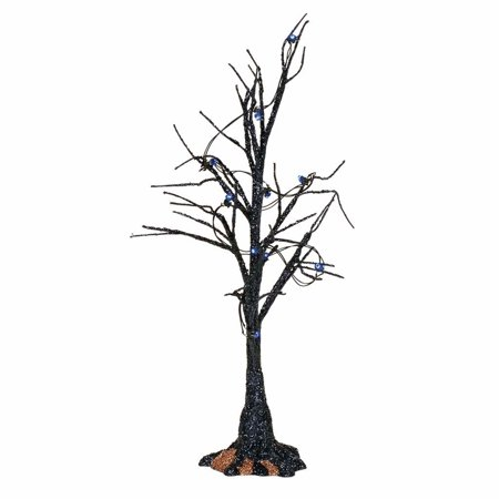 Halloween Extravaganza 2017 (Depart. 56 Halloween Village 4057623 Black Light Bare Branch Tree)