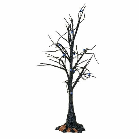 Depart. 56 Halloween Village 4057623 Black Light Bare Branch Tree - West Village Bars For Halloween