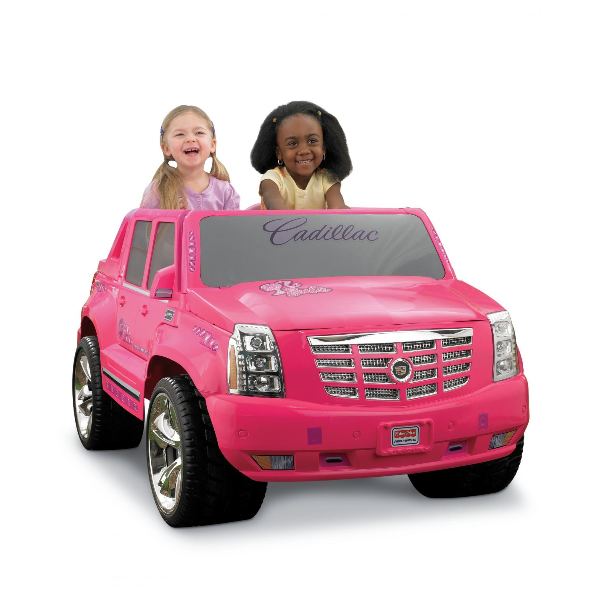 Buy Used Cadillac Escalade: Power Wheels Barbie Cadillac Hybrid Luxury Escalade, Pink