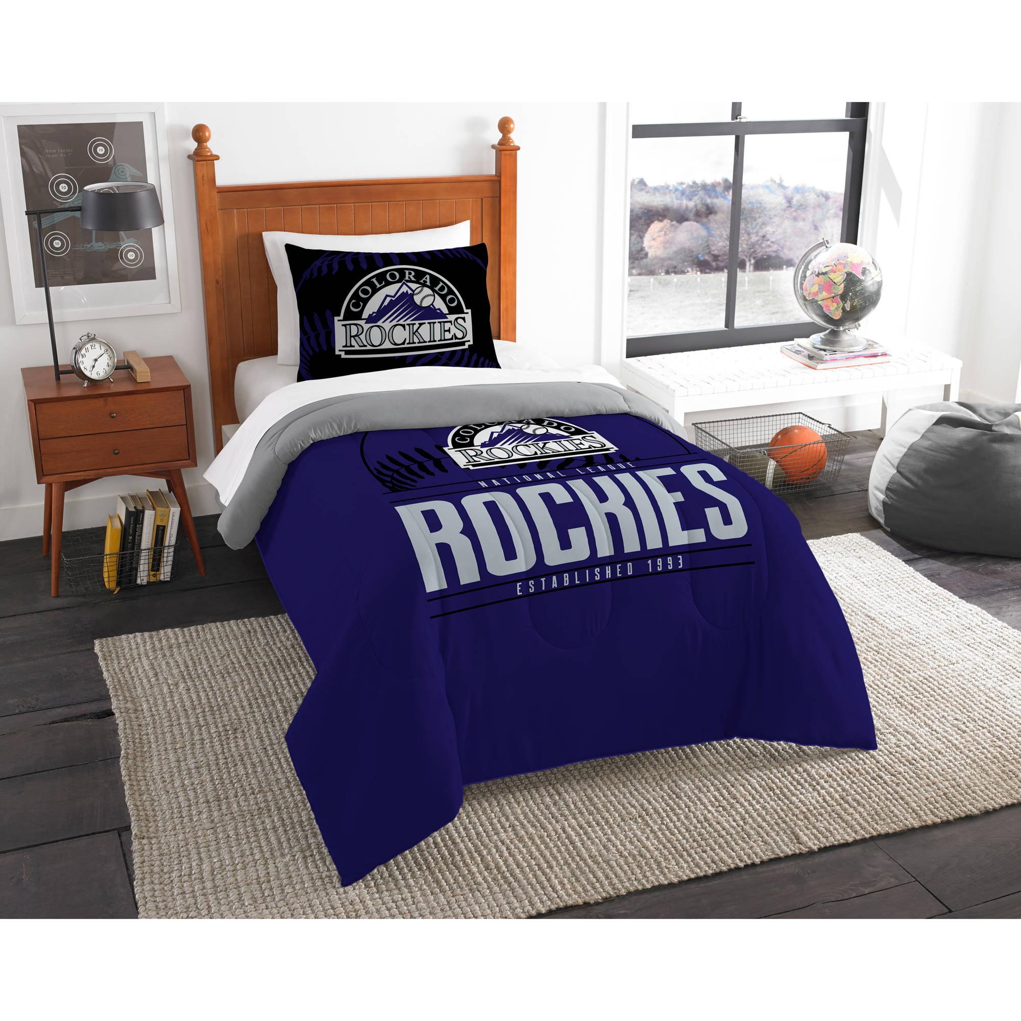 "MLB Colorado Rockies ""Grand Slam"" Bedding Comforter Set"