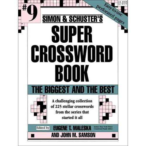 Simon & Schuster's Super Crossword Book No 9
