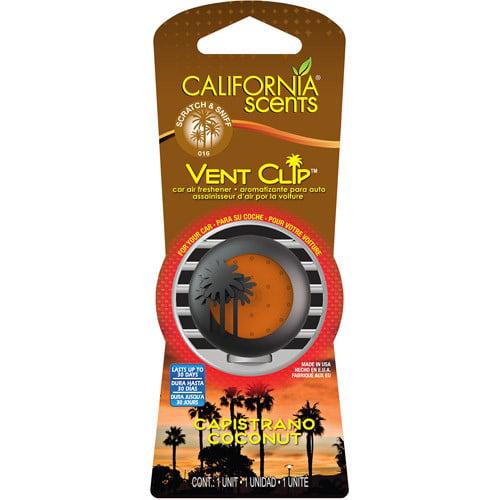 Capistrano Coconut Car Air Freshener (Pack of 2)