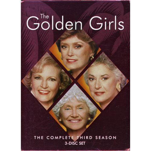Golden Girls-season 3 [dvd/3 Disc/ff 1.33/dd 2.0 Stereo] (buena Vista Home Video)