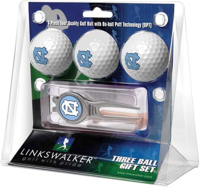 LinksWalker North Carolina Kool Tool 3 Ball Gift Pack