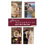 Love Inspired Historical July 2017 Box Set - eBook