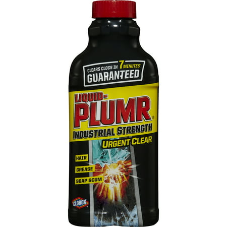 Liquid Plumr Industrial- Strength, Urgent Clear, Clog Remover 17 ounce -