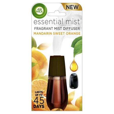 Air Wick Essential Mist Mandarin & Sweet Orange Air Freshener Refill - 0.67oz