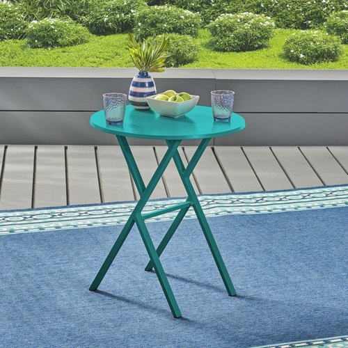 Turn on the Brights Alondra Metal Bistro Table